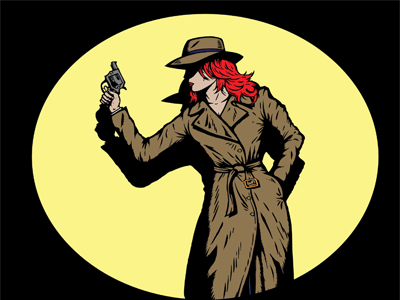 Female Private Investigator